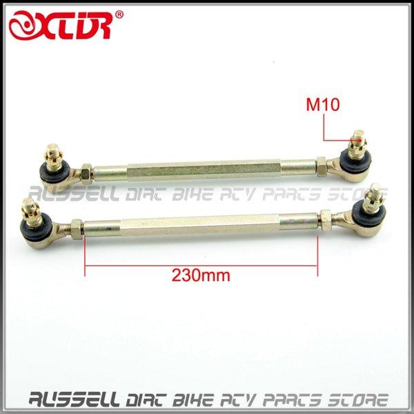 Al por mayor-chino ATV Quad GO Kart piezas de repuesto 230mm bola conjunta Tie Rod eje de giro Assy Fit M10