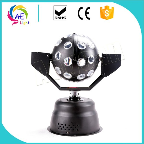 1X9W 3IN1 LED SPIN BALL effect Light Moving Head Beam Wash Spot Light Dj Disco Club Party Wedding Stage Effect Lighting