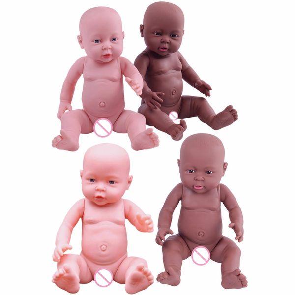 41 cm Baby Simulation Doll Soft Baby Reborn Baby Doll Toy Newborn Boy Girl Regalo di compleanno Emulated Dolls