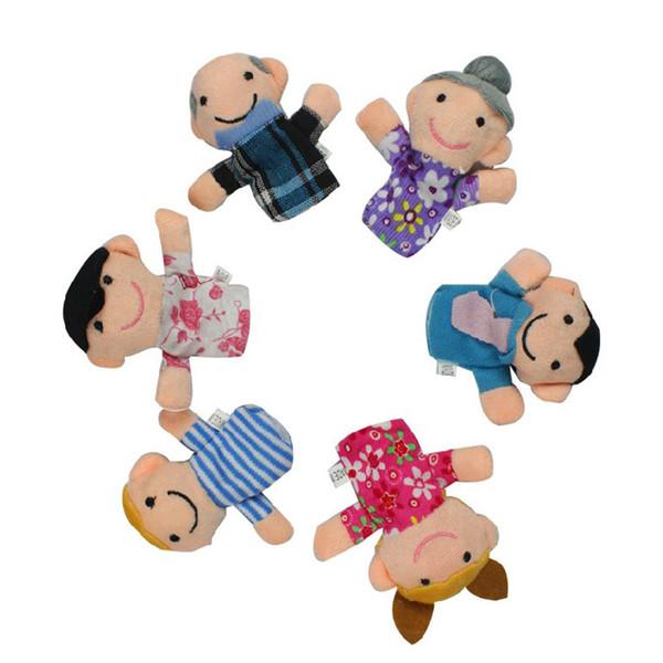 Giocattolo per bambini Cartone animato Pupazzo da dito Giocattolo da dito Dito Bambola Bambola animale Bambole per bambini per fiabe per bambini Giocattoli per famiglie Zodiaco cinese A-0302