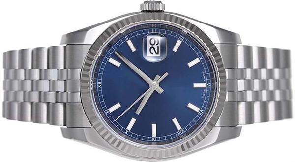 OROLOGI di lusso oro blu blu quadrante romano 116234 Rehaut Jub WATCH CHEST 40mm uomo orologio da polso
