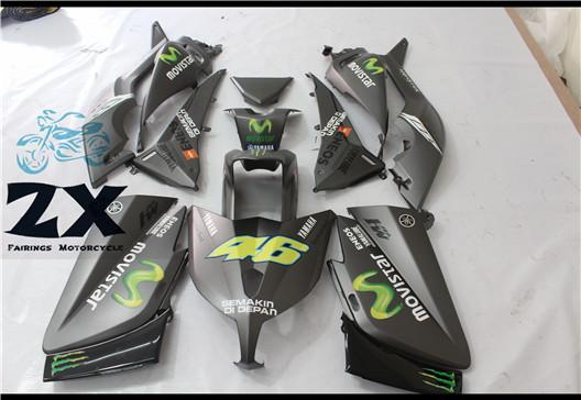 Termine carenagens para a carenagem da motocicleta da injeção do jogo do plástico do ABS ABS de Yamaha TMAX 530 2012 2013 2014T-Max