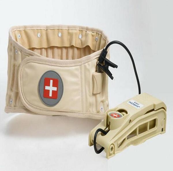 best selling Spinal Air Traction Belt Physio Decompression Back Belt Back Brace Back Pain Lower Lumbar Support Waist Brace Back Massager JJD2053
