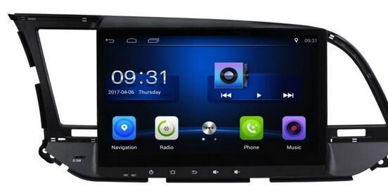 Frete Grátis Android 6.0 10.1 polegada Carro Dvd Gps para Hyundai Elantra 2016 4-Core controle de volante phonelink Wi-fi 3G DVR
