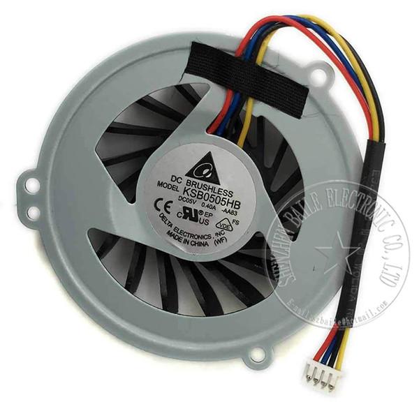 Wholesale- New cpu fan for ASUS K42D K42DR K42DE K42N A42D X42D fan, Hot sale Genuine K42D K42DR laptop cpu cooling fan cooler Good quality