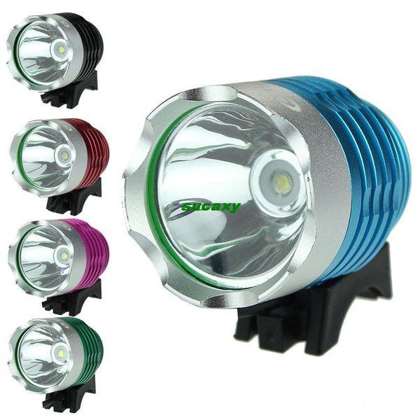 Scolour Vélo Vélo Accessoire T6 1200LM CREE XML USB LED Lumière 3 Modes Phare Phare Vélo Lumière Vélo Avant Lampe HeadLight eotw