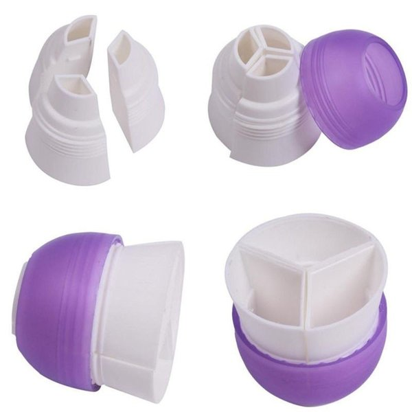 Wholesale- 1pc 3 Colors Icing Piping Dessert Decorator Cream Pastry Bag Nozzle Converter Kitchen Cooking Cake Tools