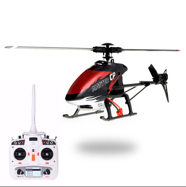 Walkera MASTER CP Flybarless 6-Axis Gyro 6CH RC Helicopter w/ DEVO 10 Transmitter Model 2 order<$18no track