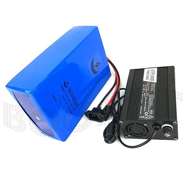 Batteria BOOANT E-Bike Li-ion 72V 35AH per Bafang 3000W Batteria elettrica per bicicletta Batteria 20S 14P Batteria con caricatore 5A