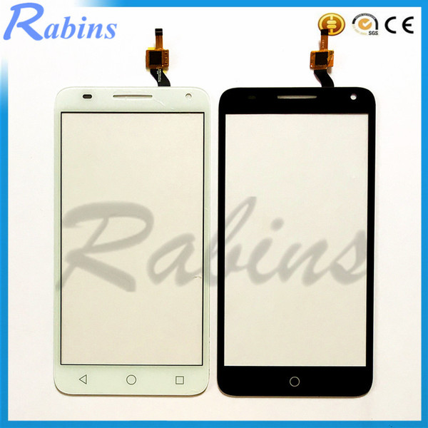 Wholesale- 5.5 inch Mobile Phone Touch Screen Digitizer Front Glass For Alcatel One Touch Pop 3 5.5 OT5025 5025D 5025 Touchscreen Sensor