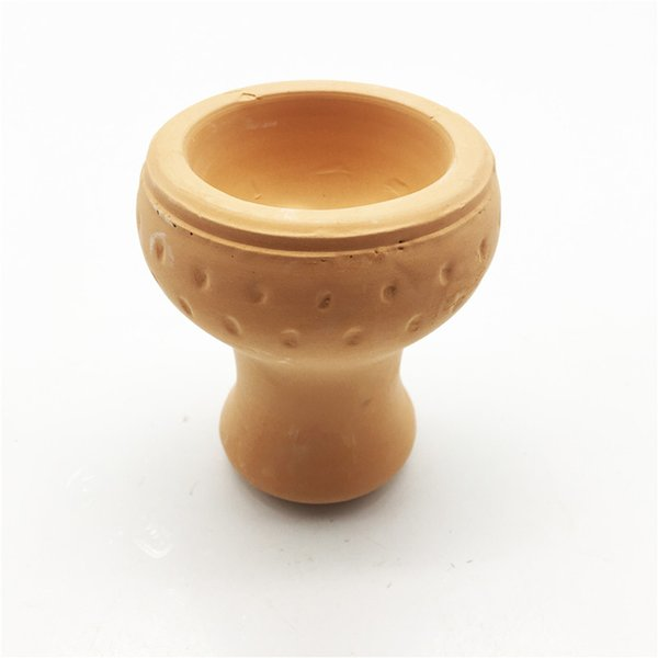 New Product Chinese Traditional Manufacture Ceramic Bake Round Ball Hookah Bowl Smoking Accessories Carbon Stove Heat Keeper Shisha Bowl