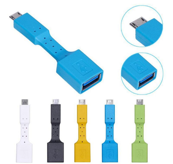 Type-C USB 3.1 USB 3.0 OTG Adapter Type C Mini Data Cable Connector USB C Data Cord For Macbook Samsung Galaxy