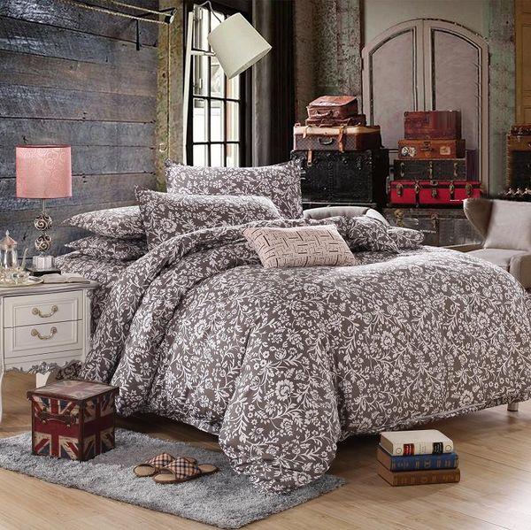 Crianças 3/4 PCS dos desenhos animados 100% tecido de algodão meninas kawaii conjunto de cama de Flor de linho incluem Quilt / capa de edredão lençol Fronha