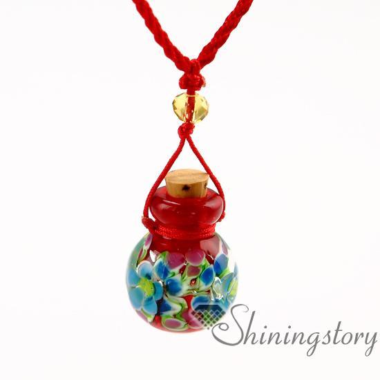 petit collier d'urne de cendres bijoux de crémation souvenirs colliers collier flacons pour cendres