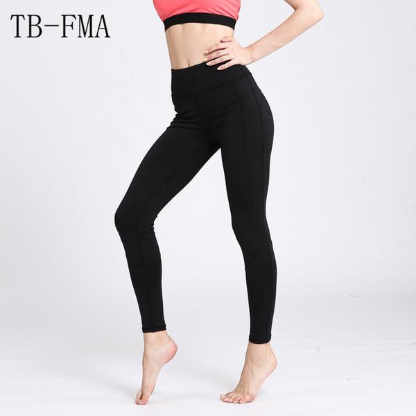 Femme Taille Haute Yoga Leggings Extensible Course Fitness Gym Sport Pantalon