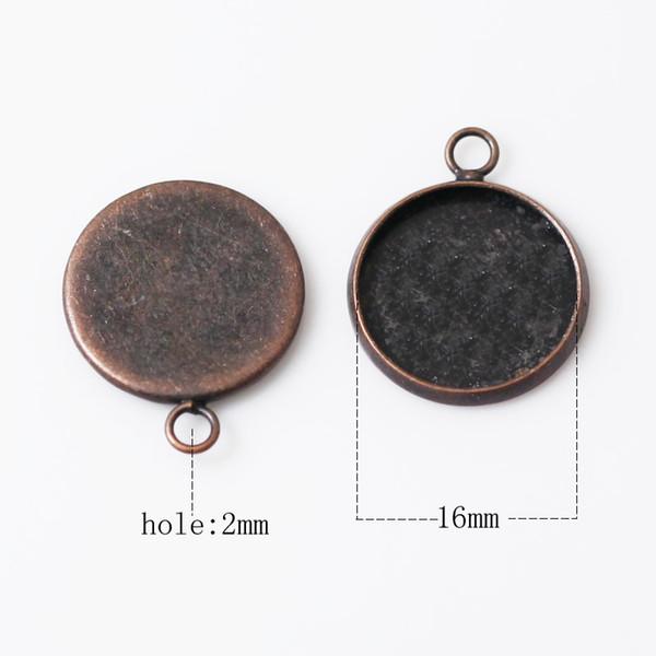 16mm antika bakır