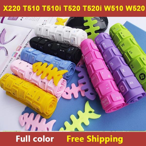 Großhandels-farbenreiche Laptops Tastaturabdeckungs-Hautschutz für Lenovo ThinkPad X220, T510, T510i, T520, T520i, W510, W520