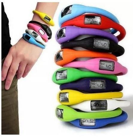Anion Health Sports Wrist bracelet Unisex Rubber Jelly Ion Watch Digital Bracelets Silicone Watches For Mens Womens Mixed Colors