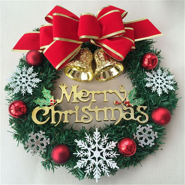merry christmas garlandhot sale adornos navidad 2015new year christmas tree hanging decoration