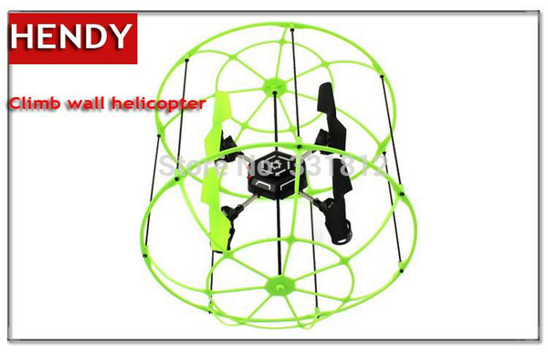 Envío gratis Ar.Drone pared de escalada Control remoto RC helicóptero OVNI 2.4G 4CH Quad Copter resistente mejor juguetes para niños regalos para niños