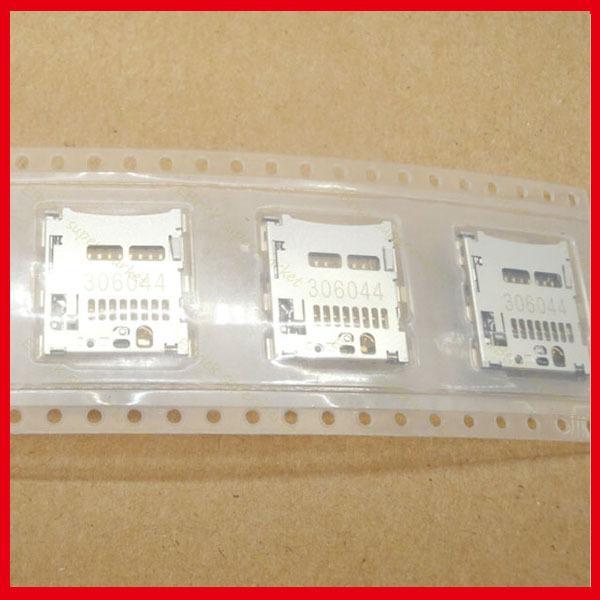 Wholesale-10pcs/lot Original New SIM Memory Card for HUAWEI P6 P6S U06 U00 C00 T00 SIM Card Holder