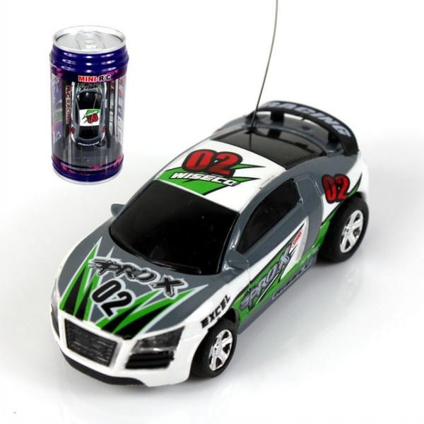 DHL libero 8 colori Mini-Racer Telecomando Auto Coca Cola Può Mini RC Radio Telecomando Micro Racing 1:64 Auto 8803 funy auto puzzle di puzzle