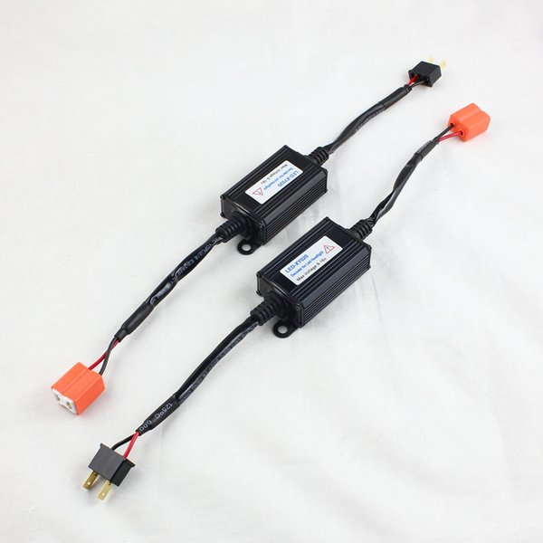 H7 LED CANBUS Cancelador de advertencia Sin error led Kit de conversión de faros Decoder Out Canceller Adaptador de resistencia de carga anti-parpadeo