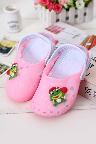Bebek toddler ayakkabı yumuşak alt yaz çocuklarda 2-6 yaşında bebek ayakkabı kayma sandalet bahçe ayakkabı