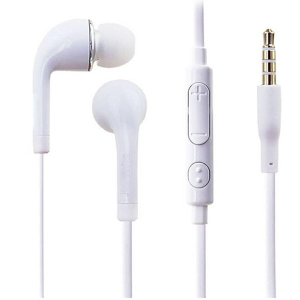 best selling J5 Earphone for Samsung Galaxy S4 S5 3.5mm flat noodle Headphone Color Headset Earbuds With mic Remote Control for NOTE 3 4