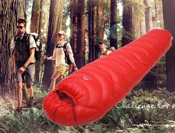 Le sac de couchage en duvet de canard LMG ultra-léger de remplissage de haute qualité remplissant 3000g