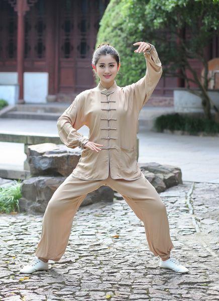 Shanghai Story 2019 Chinese Kung Fu Suit for Women Tai Chi Clothing 100% Cotton Art Uniform taiji wushu kung fu taiji clothing 2527