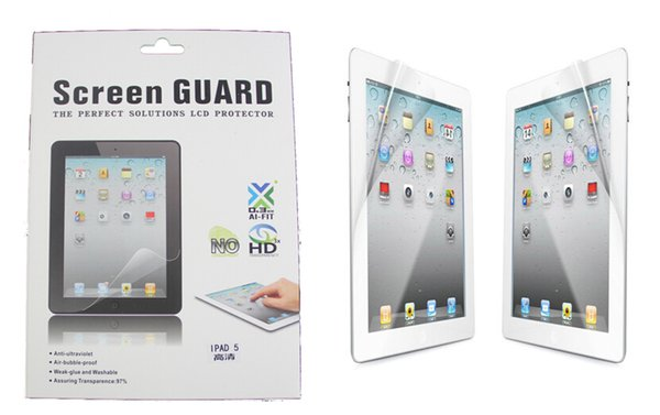 LCD Screen Protector Clear Matte Screen Film Guard Schutz mit Kleinpaket für Ipad Mini 3 4 Ipad 2 3 4 5 6 Air 2 Ipad Pro 9.7 10.5