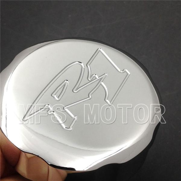 Motorcycle For Yamaha YZF R1 YZFR1 YZF-R1 1998 1999 2000 2001 2002 2003 2004 2005 2006 2007-2012 CHROME Billet brake Fluid Reservoir Cap