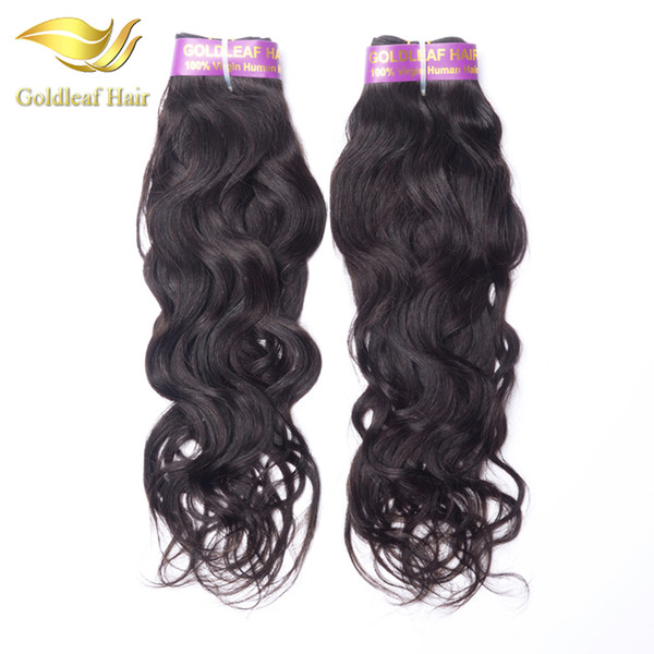 Hot selling 1pc Natural Wave Brazialian virgin hair Malaysian Peruvian Indian Mongolian human hair top quality unprocessed hair extensions