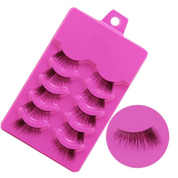 Wholesale-Natural Half False Eyelashes Fake Eye Lashes Eyelash Z21