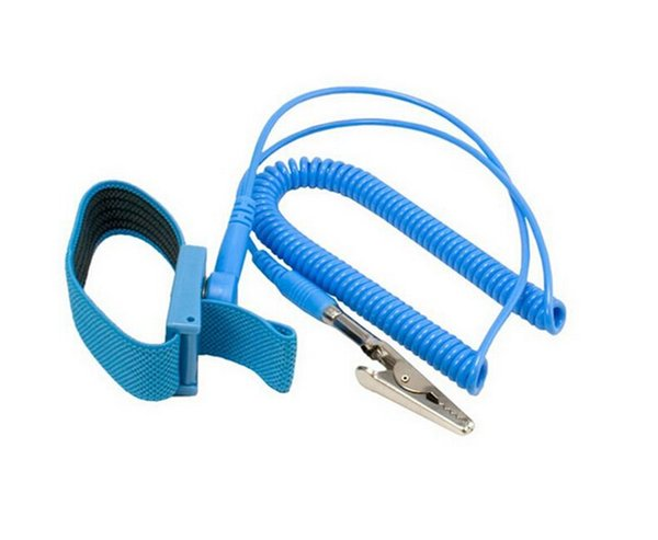 New Cordless Wireless Clip Antistatic Anti Static ESD Wristband Wrist Strap Discharge Cables For Electrician IC PLCC worker