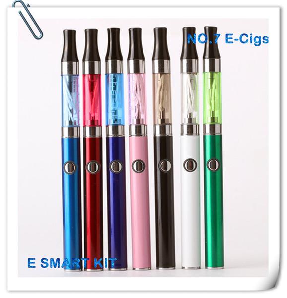 Toptan-Mini EVOD Elektronik Sigara başlangıç kitleri 1.3 ml E Akıllı miniAtomizer 390 mah EVOD Pil Ego EVOD Blister Kitleri
