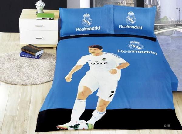 Grosshandel Haustextilien Fussballmannschaft 100 Baumwolle Portugals Cristiano Ronaldo Fussball Fans Fur Bettwasche Schlafzimmer Gesetzt Bett Plansatz
