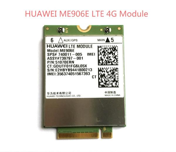 best selling Freeshipping Unlocked ME906E+2PCS IPX4 Antenna NEW&Original FDD LTE 4G WCDMA GSM Module SPS# 740011-005 in stock