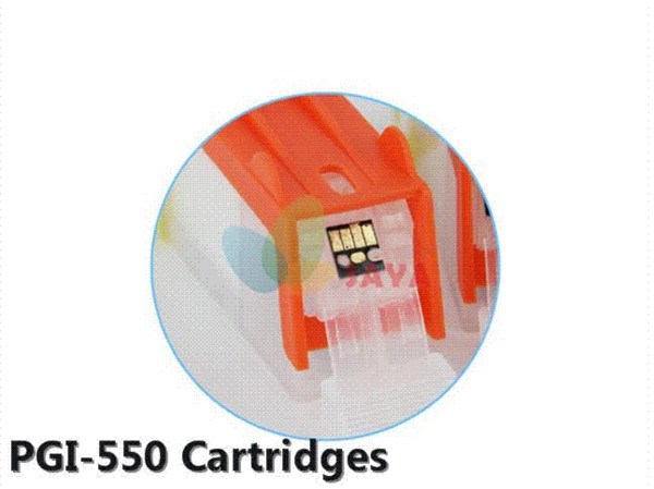 SAYA For CANON IP7250 MG5450 MX925 MG5550 IX6850 MX725 printer PGI-550BK 551 refillable ink cartridge 5 color with ARC chip