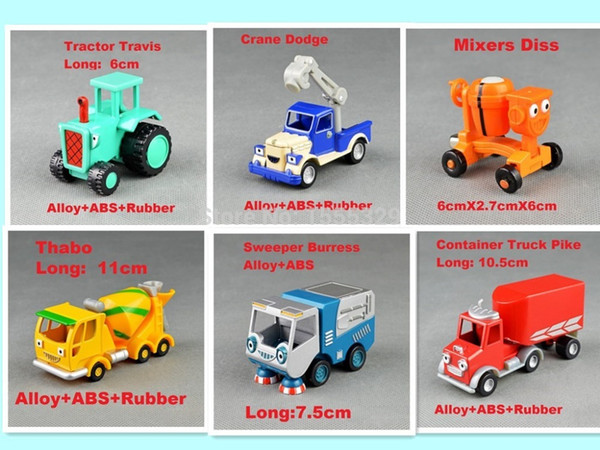 Learning Curve Toy Bob The Builder Metal Metal Truck