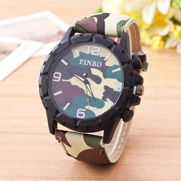 wengle New 2017 fashion Europe and the United States Selling Camouflage field pointer military sloggi quartz Watch