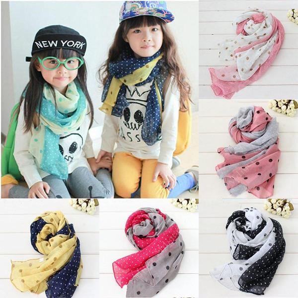 80 * 180 cm silenziatore per bambini autunno estate e inverno sciarpa calda bambini baby boy ragazze sciarpa di cotone bambini sciarpa calda bib JIA281