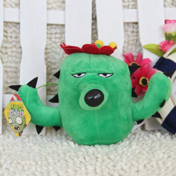 Cute Plants vs Zombies Series Plush Toy Cactus 16*10CM