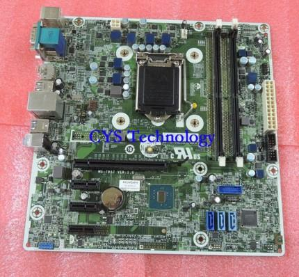 Industrial equipment board for Pro 400G3 MT motherboard,MS-7957,s1151,H110,2 slots DDR4,793739-001,793305-002,work perfect