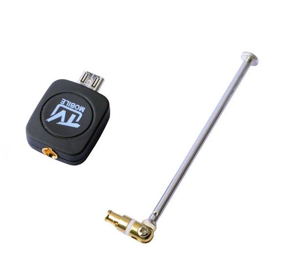 Wholesale-EZTV DVB-T TV TV Receiver TV Watch Digital Satelite Receiver Adapter For Android Phone Tablet #S0179