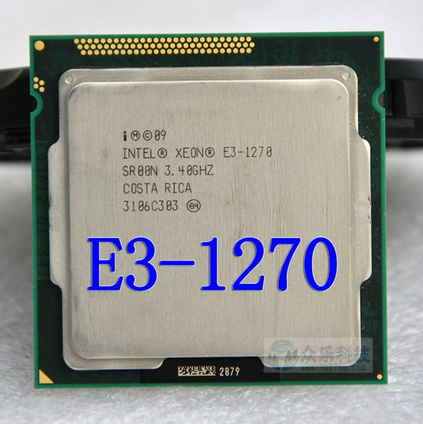 Intel Xeon E3 1270 3.4GHz LGA1155 8MB Quad Core CPU Processor E3-1270 SR00N