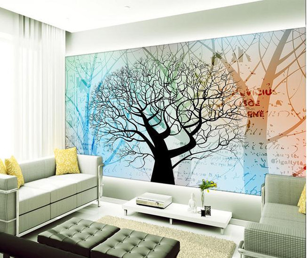 Papel de parede Simple and stylish modern mural wall sticker new large wallpaper wall paper costomize size 898228