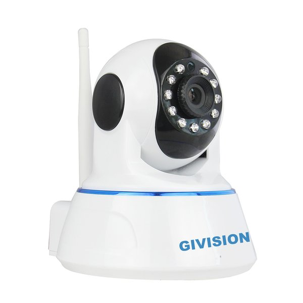 wifi 720P HD IP Camera 1mp Wireless P2P Plug and Play IR cut Night Vision Pan/Tilt Two Way Audio Micro SD Slot surveillance Camera