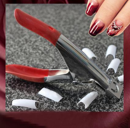 Wholesale-MN-1 PCS Nail Art for Edge Cutter UV Acrylic False Nail Clipper Tips Manicure Pedicure Worldwide FreeShipping